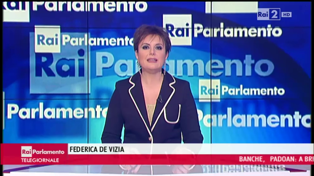 Federica de vizia rai parlamento tgr emilia romagna for Parlamento rai