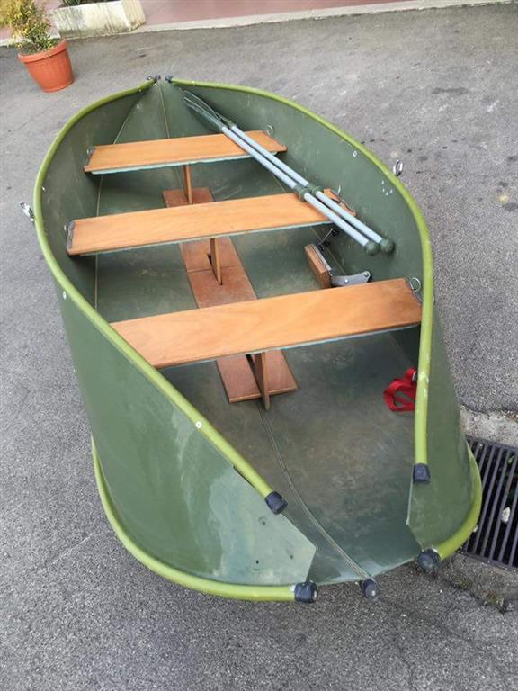 Barca pieghevole dolphinsea 320 carpmercatino - Barca porta bote ...