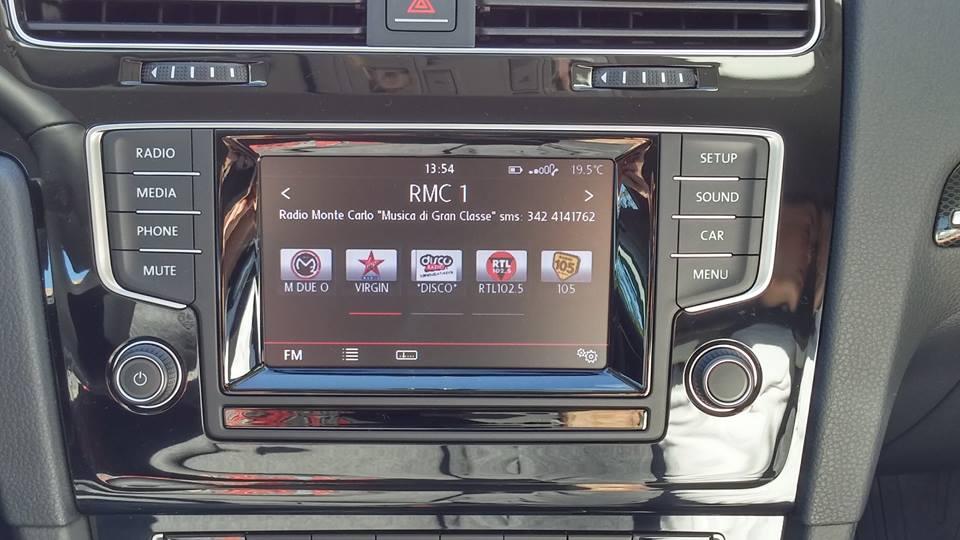 loghi radio volkswagen