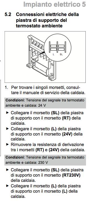 Installazione Termostato Vaillant Vrt35 Su Atmoblock Plus Morsetti